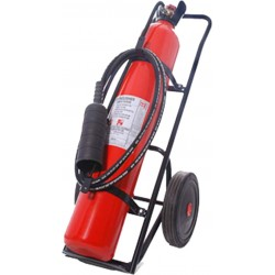 Carbon dioxide Trolley Fire Extinguisher - 25 Kg