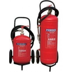 Dry Powder Trolley Fire extinguisher - 50 Kg