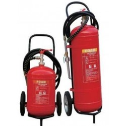 25LTS Wheeled Fire Extinguisher Foam (AFFF) Trolley