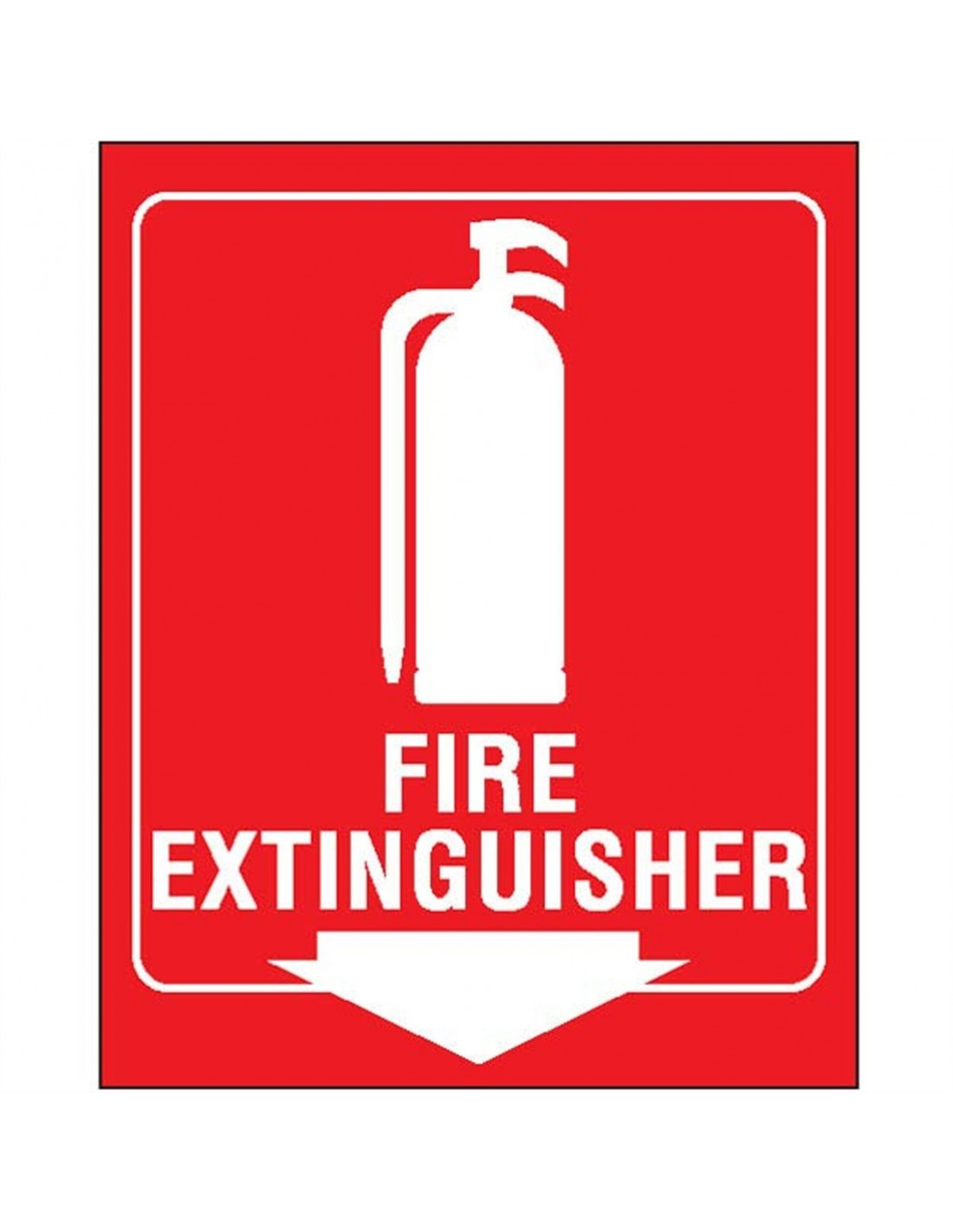 Cabinet In Fire Extinguisher Sign Pictures To Pin On