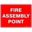 Fire Assembly Point c/w Stand