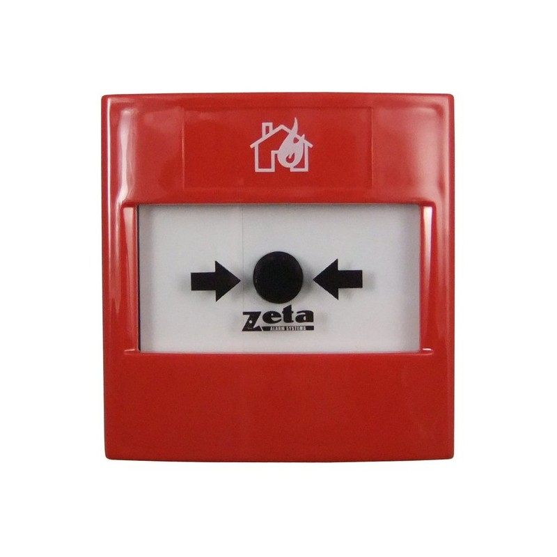 Zeta Conventional surface mount manual call point