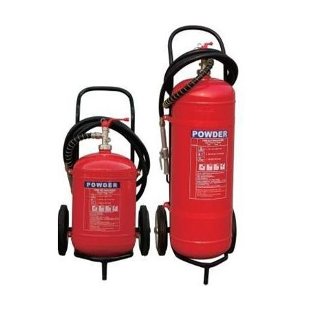 Dry Powder Trolley Fire extinguisher - 50 Kg