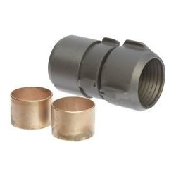 "Couplings for Red Fire Hose 2/2"" 75 Ft"