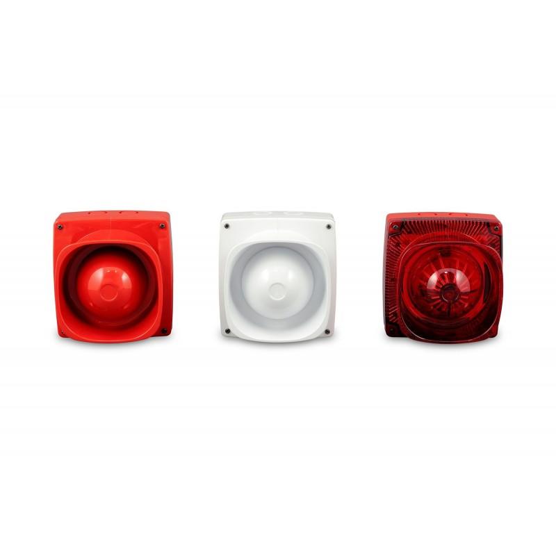Zeta Maxitone Addressable Sounder (Red)