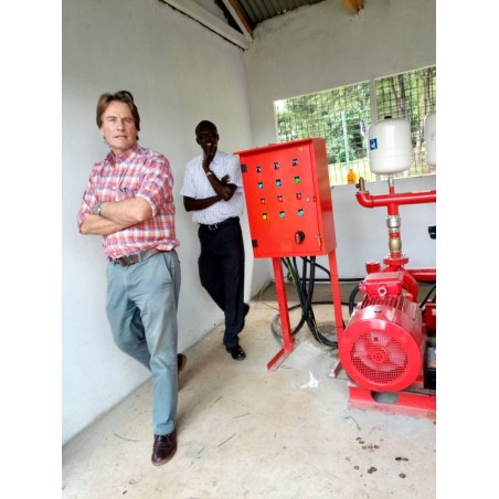 Fire hydrant installation - James Finlays