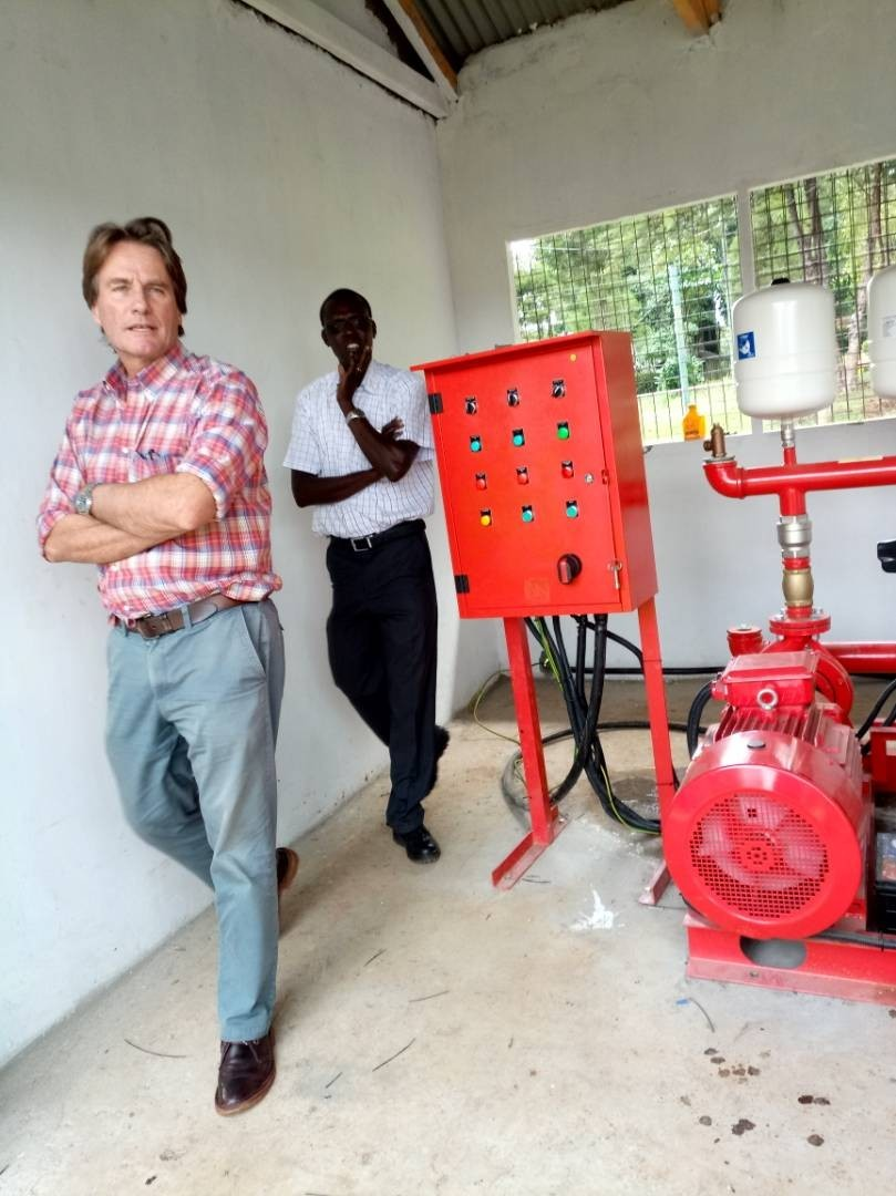 Fire hydrant installation - James Finlays | Morison Engineering