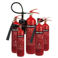 CO2 fire extinguisher - 2 Kg