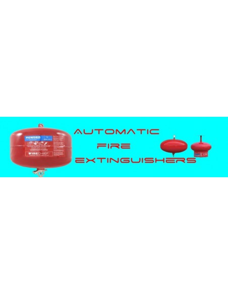 Automatic Dry Powder Fire extinguishers