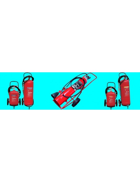 TROLLEY FIRE EXTINGUISHERS